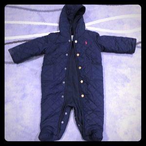 Ralph Lauren winter jumpsuit for baby boy